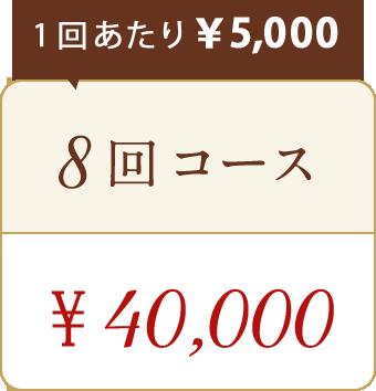 ドクタースカルプお試し8回コース40,000円