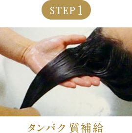 ステップ1.タンパク質補給